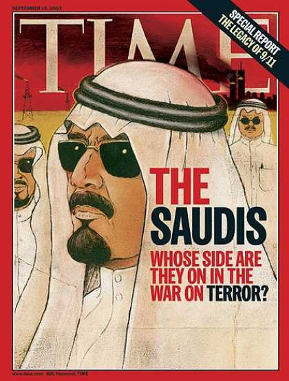 Time - The Saudis - Sep. 15, 2003 - Saudi Arabia - Middle East - Terrorism