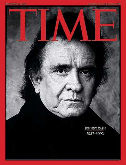 Time - Johnny Cash: 1932-2003 - Sep. 22, 2003 - Singers - Country Music - Music