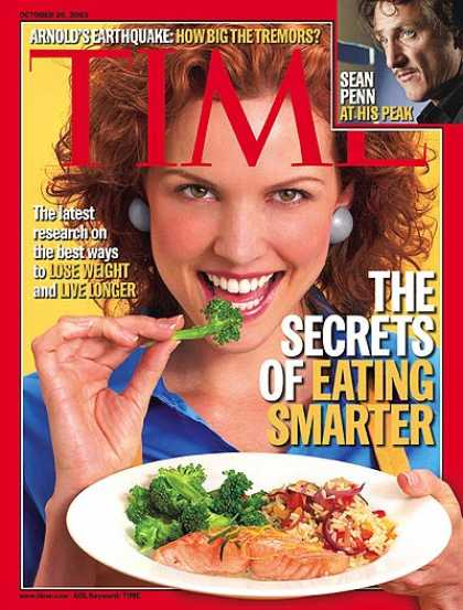 Time - The Secrets of Eating Smarter - Oct. 20, 2003 - Food - Nutrition - Health & Medi