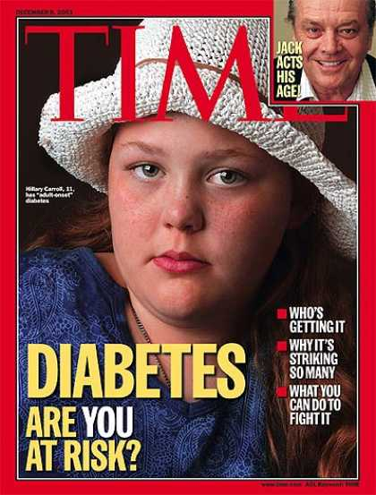 Time - Diabetes: Are You at Risk? - Dec. 8, 2003 - Illness & Disease - Disease - Health