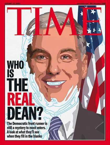 Time - Who Is the Real Dean? - Jan. 12, 2004 - Presidential Elections - Politics - Demo