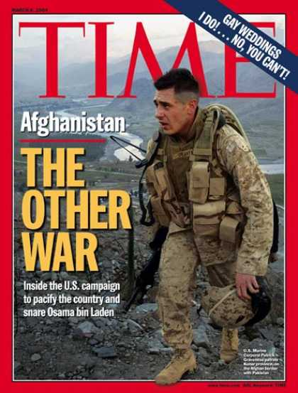 Time - Afghanistan: The Other War - Mar. 8, 2004 - Afghanistan - Terrorism - Middle Eas