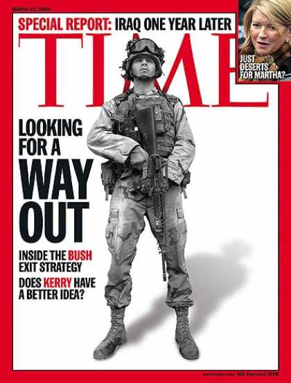 Time - Iraq: Looking for a Way Out - Mar. 15, 2004 - Iraq - Military - Middle East