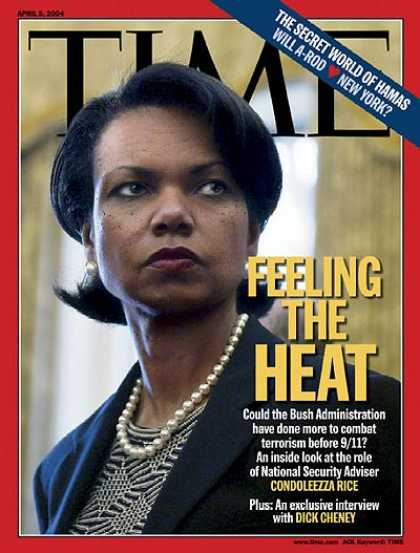Time - Feeling the Heat - Apr. 5, 2004 - George W. Bush - Sept. 11 - Terrorism