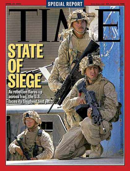 Time - State of Siege - Apr. 19, 2004 - Iraq - Terrorism - Middle East