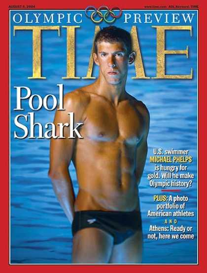 Time - Aug. 9, 2004 - Olympics - Swimming - Sports
