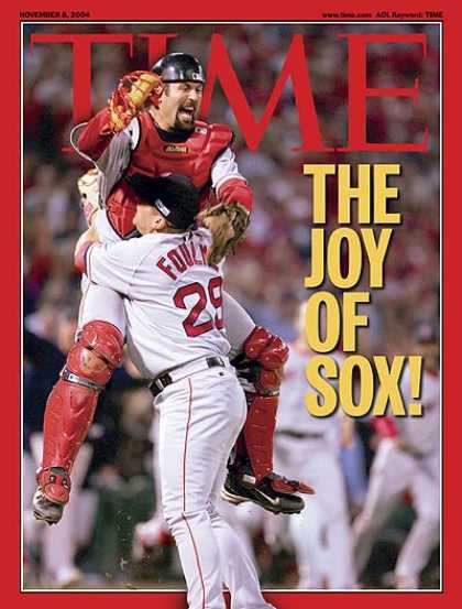 Time - The Joy of Sox - Nov. 8, 2004 - Baseball - Boston - Sports