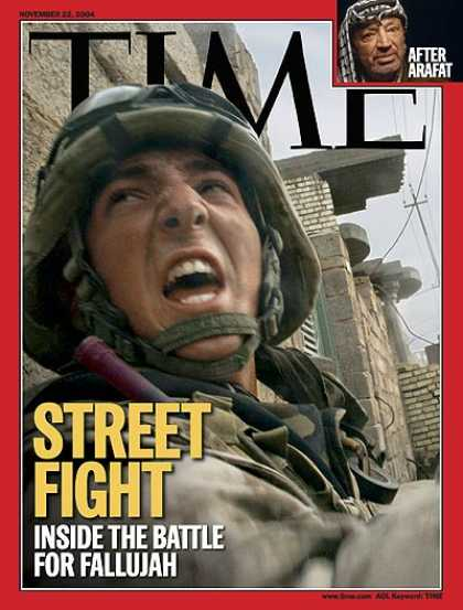 Time - Street Fight: The Battle for Fallujah - Nov. 22, 2004 - Iraq - Middle East