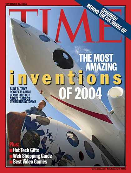 Time - The Most Amazing Inventions of 2004 - Nov. 29, 2004 - Inventions - Innovation -