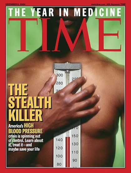 Time - The Stealth Killer - Dec. 6, 2004 - Heart Disease - Health & Medicine