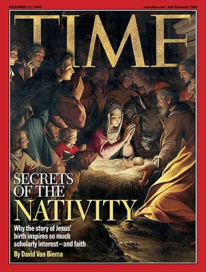 Time - Secrets of the Nativity - Dec. 13, 2004 - Mary - Jesus - Religion