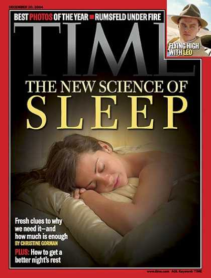 Time - The New Science of Sleep - Dec. 20, 2004 - Sleep - Health & Medicine