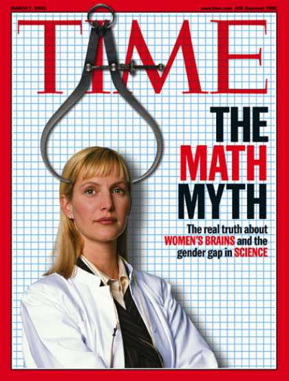 Time - Women and the Math Myth - Mar. 7, 2005 - Women - Mathematics - Education