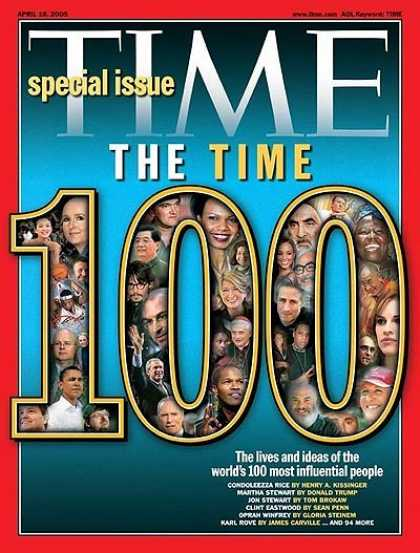 Time - The 2005 TIME 100 - Apr. 18, 2005 - TIME 100 - Special Issues