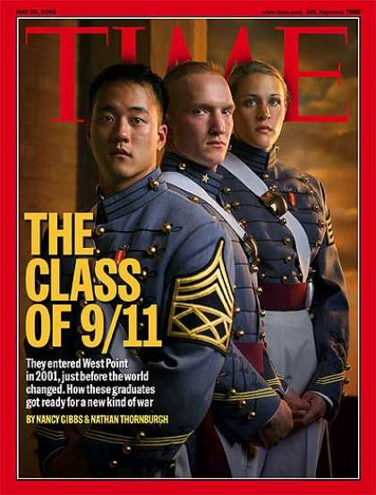 Time - The Class of 9/11 - May 30, 2005 - Military - Terrorism - Army - Sept. 11