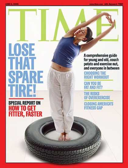 Time - How to Get Fitter, Faster - June 6, 2005 - Disease - Fitness - Health & Medicine