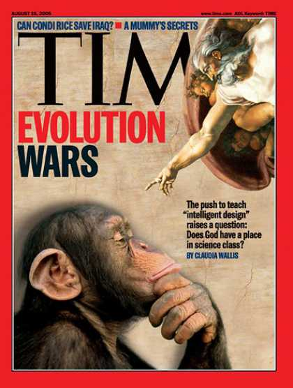 Time - The Evolution Wars - Aug. 15, 2005 - Religion - Evolution - Science & Technology