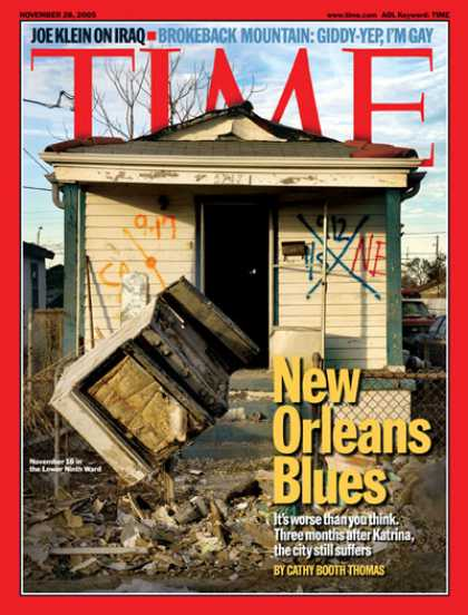 Time - New Orleans Blues - Nov. 28, 2005 - Hurricanes - Weather - Floods - Natural Disa