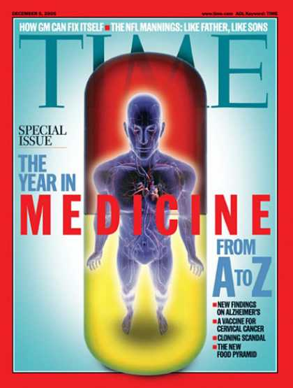 Time - The Year in Medicine from A to Z - Dec. 5, 2005 - Health & Medicine