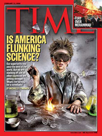 Time - Is America Flunking Science? - Feb. 13, 2006 - Education - Science & Technology