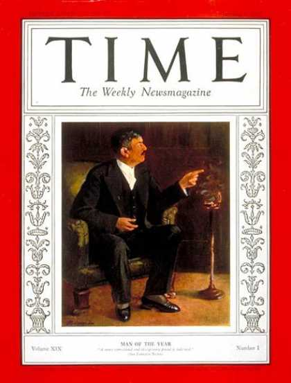 Time - Pierre Laval, Man of the Year - Jan. 4, 1932 - Pierre Laval - Person of the Year