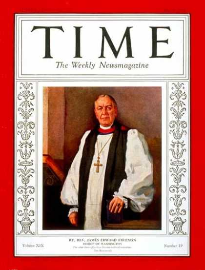 Time - May 9, 1932 - Religion
