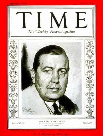 Time - Emil Hurja - Mar. 2, 1936 - Media - Politics