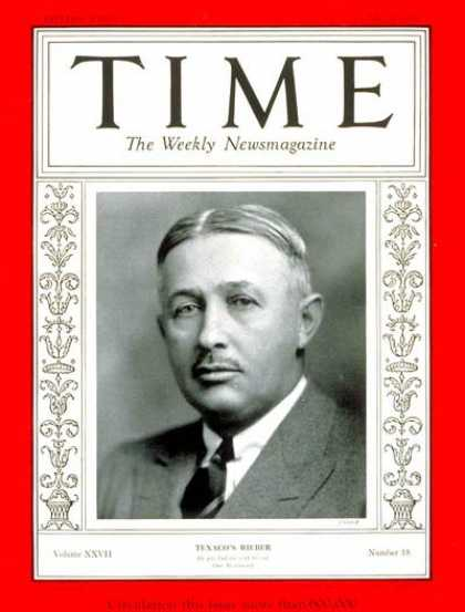 Time - Torkild Rieber - May 4, 1936 - Business