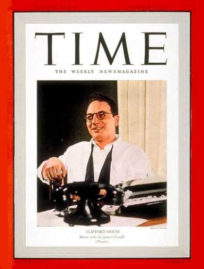 Time - Clifford Odets - Dec. 5, 1938 - Theater - Actors