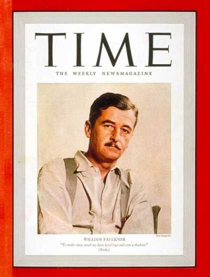 Time - William Faulkner - Jan. 23, 1939 - Books