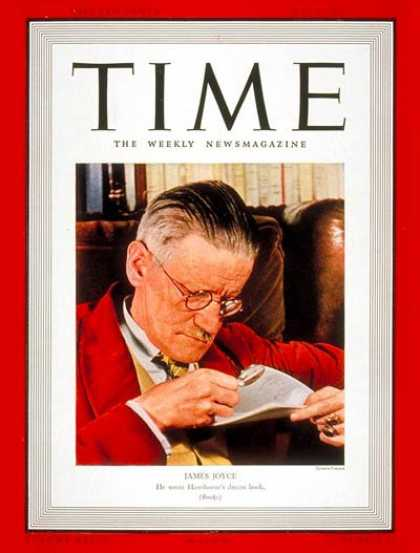 Time - James Joyce - May 8, 1939 - Books