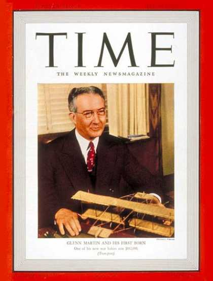 Time - Glenn L. Martin - May 29, 1939 - Aviation - Business