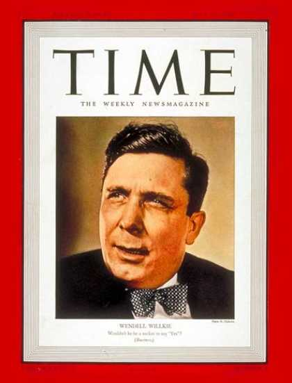 Time - July 31, 1939 - Politics - Business - New Deal