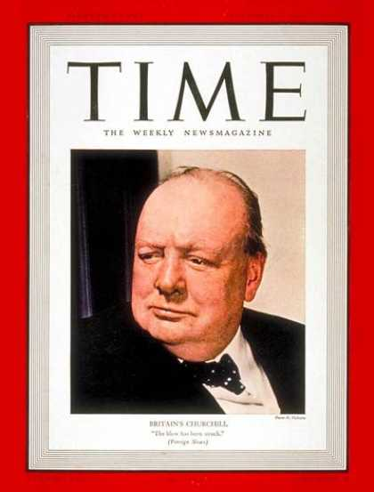Time - Winston Churchill - Sep. 4, 1939 - Great Britain
