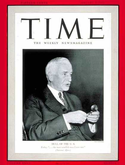 Time - Jan. 8, 1940 - Diplomacy - United Nations - Government - Law