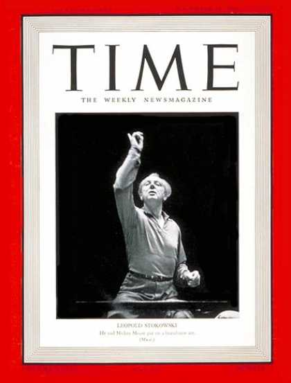 Time - Leopold Stokowski - Nov. 18, 1940 - Conductors - Classical Music - Music