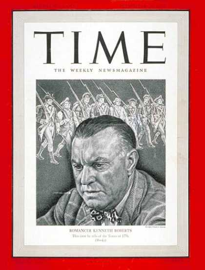 Time - Kenneth Roberts - Nov. 25, 1940 - Books