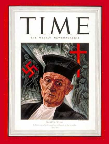 Time - Martin Neimoller - Dec. 23, 1940 - Germany - Religion