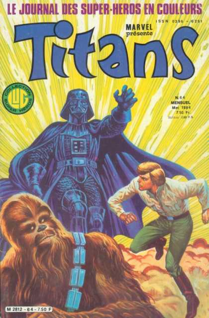 Titans 5 - Titans - Luke Skywalker - Chewbaca - Darth Vader - No 64 - Joe Benitez, Phil Jimenez