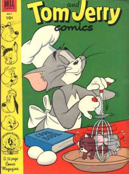 Tom & Jerry Comics 106 - Cat - Mouse - Eggs - Beater - Cookbook