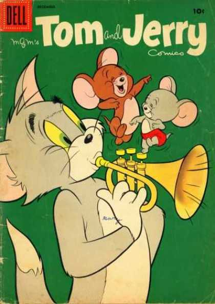 Tom & Jerry Comics 161 - Mice - Cat - Horn - Ears - Tail
