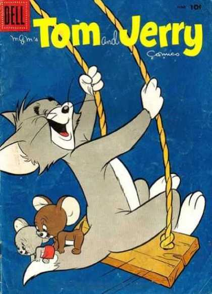 Tom & Jerry Comics 167 - Dell - Dell Comics - Tom And Jerry - Mouse - Cat