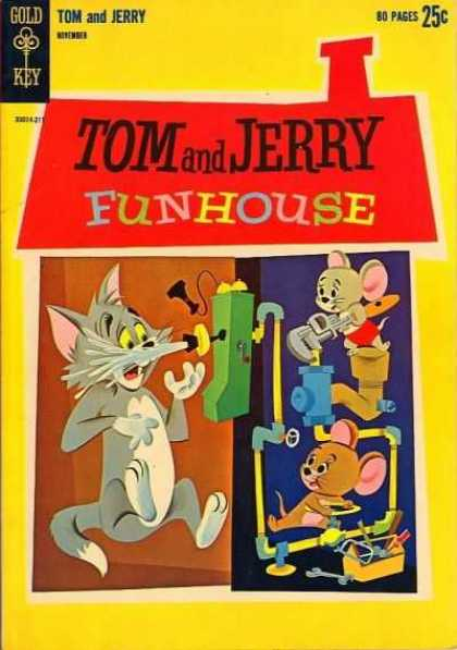 Tom & Jerry Comics 213 - Mice - Cat - Water - Phone - Pipes