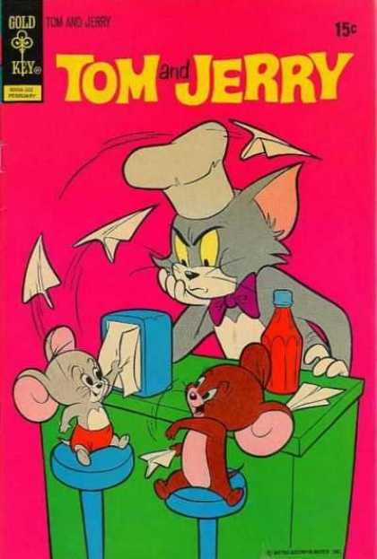 Tom & Jerry Comics 269 - Gold Key - Comic - Retro - Hanna-barbera - Cartoon