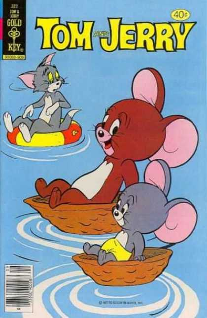 Tom & Jerry Comics 322 - Tom - Jerry - Cat - Mouse - Nibbles