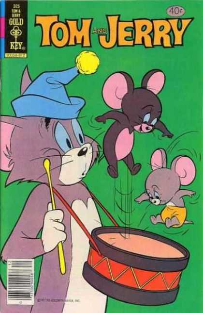 Tom & Jerry Comics 325 - Tom And Jerry - Gold Key - Tom - Jerry - 325