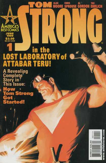 Tom Strong 1 - Sprouse - Attabar Teru - Glass - Revealing - Incredible - Alex Ross