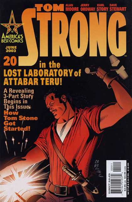 Tom Strong 20 - Knife - Hammer - Lost Laboratory - Jerry Ordway - Alan Moore - Chris Sprouse