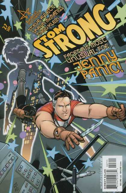 Tom Strong 27 - Hey Jenny I Got You Number - Panic Attack - Friend Or Foe - Get This Issue Sept 27th - The 2 Come Face To Face - Chris Sprouse