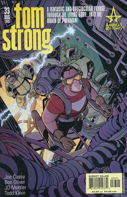 Tom Strong 33 - 33 Aug - Man - Americas Best Comics - Joe Casey - Ben Oliver - Chris Sprouse